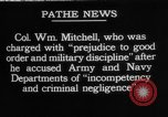 Image of General William Mitchell United States USA, 1925, second 1 stock footage video 65675049081