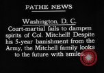 Image of General William Mitchell Washington DC USA, 1925, second 1 stock footage video 65675049082