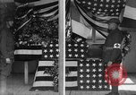 Image of casket wrapped in American flag France, 1918, second 2 stock footage video 65675049096