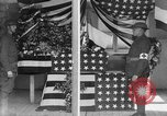 Image of casket wrapped in American flag France, 1918, second 5 stock footage video 65675049096