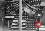 Image of casket wrapped in American flag France, 1918, second 7 stock footage video 65675049096