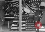 Image of casket wrapped in American flag France, 1918, second 8 stock footage video 65675049096