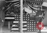 Image of casket wrapped in American flag France, 1918, second 11 stock footage video 65675049096