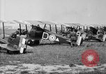 Image of Sopwith Camel bombers Berques France, 1918, second 9 stock footage video 65675049097