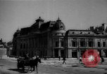Image of bomb wreckage Bucharest Romania, 1944, second 5 stock footage video 65675049112