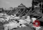 Image of bomb wreckage Bucharest Romania, 1944, second 9 stock footage video 65675049112