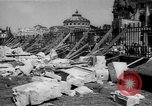 Image of bomb wreckage Bucharest Romania, 1944, second 10 stock footage video 65675049112
