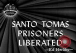Image of Santo Tomas prisoner liberation Manila Philippines, 1945, second 1 stock footage video 65675049115
