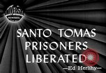 Image of Santo Tomas prisoner liberation Manila Philippines, 1945, second 2 stock footage video 65675049115
