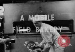 Image of mobile bakery United States USA, 1943, second 10 stock footage video 65675049129