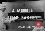 Image of mobile bakery United States USA, 1943, second 11 stock footage video 65675049129