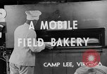Image of mobile bakery United States USA, 1943, second 12 stock footage video 65675049129