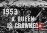 Image of Queen Elizabeth II Coronation London England United Kingdom, 1953, second 4 stock footage video 65675049153