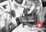 Image of Navy diver entering water United States USA, 1943, second 2 stock footage video 65675049206