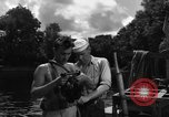 Image of Navy diver entering water United States USA, 1943, second 3 stock footage video 65675049206