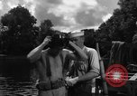 Image of Navy diver entering water United States USA, 1943, second 7 stock footage video 65675049206