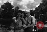 Image of Navy diver entering water United States USA, 1943, second 9 stock footage video 65675049206