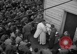 Image of U.S. Catholic chaplain conducts mass 3 days before D-Day Weymouth England, 1944, second 6 stock footage video 65675049229