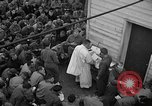Image of U.S. Catholic chaplain conducts mass 3 days before D-Day Weymouth England, 1944, second 8 stock footage video 65675049229