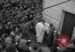 Image of U.S. Catholic chaplain conducts mass 3 days before D-Day Weymouth England, 1944, second 11 stock footage video 65675049229
