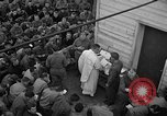 Image of U.S. Catholic chaplain conducts mass 3 days before D-Day Weymouth England, 1944, second 12 stock footage video 65675049229