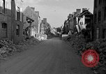 Image of Valognes, France, completely destroyed in World War II France, 1944, second 5 stock footage video 65675049233