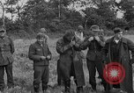Image of German prisoners of war at a field in France France, 1944, second 9 stock footage video 65675049234