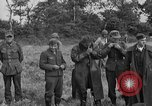 Image of German prisoners of war at a field in France France, 1944, second 10 stock footage video 65675049234