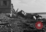 Image of Wrecked port facilities  Cherbourg Normandy France, 1944, second 7 stock footage video 65675049237