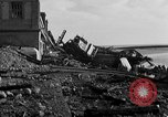 Image of Wrecked port facilities  Cherbourg Normandy France, 1944, second 8 stock footage video 65675049237