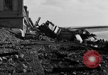 Image of Wrecked port facilities  Cherbourg Normandy France, 1944, second 10 stock footage video 65675049237