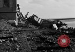 Image of Wrecked port facilities  Cherbourg Normandy France, 1944, second 11 stock footage video 65675049237