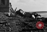 Image of Wrecked port facilities  Cherbourg Normandy France, 1944, second 12 stock footage video 65675049237