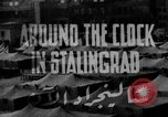 Image of Russian people Stalingrad Russia Soviet Union, 1944, second 1 stock footage video 65675049251