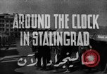 Image of Russian people Stalingrad Russia Soviet Union, 1944, second 5 stock footage video 65675049251