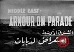 Image of British 9th Armored Brigade Middle East, 1944, second 1 stock footage video 65675049253