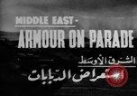 Image of British 9th Armored Brigade Middle East, 1944, second 2 stock footage video 65675049253