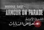 Image of British 9th Armored Brigade Middle East, 1944, second 4 stock footage video 65675049253