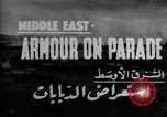 Image of British 9th Armored Brigade Middle East, 1944, second 5 stock footage video 65675049253