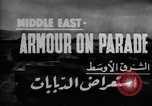 Image of British 9th Armored Brigade Middle East, 1944, second 6 stock footage video 65675049253