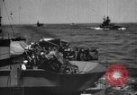 Image of Allied convoy of ships Atlantic Ocean, 1944, second 9 stock footage video 65675049254
