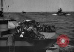 Image of Allied convoy of ships Atlantic Ocean, 1944, second 10 stock footage video 65675049254