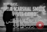 Image of Field Marshal Jan Smuts Cairo Egypt, 1944, second 2 stock footage video 65675049256