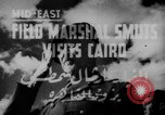 Image of Field Marshal Jan Smuts Cairo Egypt, 1944, second 5 stock footage video 65675049256