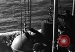 Image of Coast Artillery Mine Planting operations in US coastal waters Atlantic Ocean, 1939, second 6 stock footage video 65675049268
