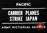 Image of Allied air attacks Japan, 1944, second 1 stock footage video 65675049277
