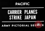 Image of Allied air attacks Japan, 1944, second 4 stock footage video 65675049277