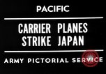 Image of Allied air attacks Japan, 1944, second 6 stock footage video 65675049277