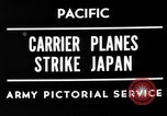 Image of Allied air attacks Japan, 1944, second 7 stock footage video 65675049277
