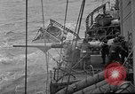 Image of artillery aboard a ship Atlantic Ocean, 1923, second 8 stock footage video 65675049291